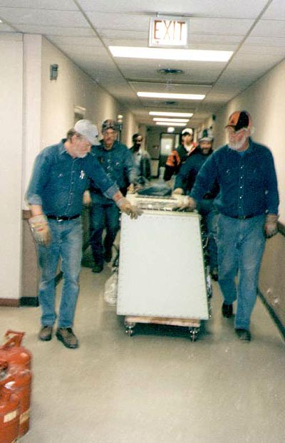 The Move Out of Noyes and Into The Chemical and Life Sciences Laboratory